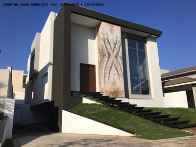 Casa Em Condomínio Para Venda Em Cuiabá, Alphaville 1 Cuiabá, 6 Suítes, 2 Banheiros, 4 Vagas - 326000