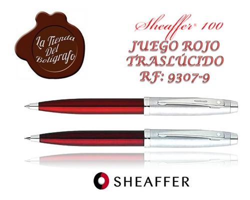 9307-9 Sheaffer Juego 100 Rojo T - Unidad a $150000