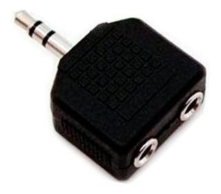 Conector 2 Audifonos 3.5mm iPhone iPod Samsung Blue Htc Zte