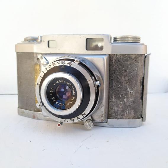 Antiga Maquina Fotográfica Swan 35