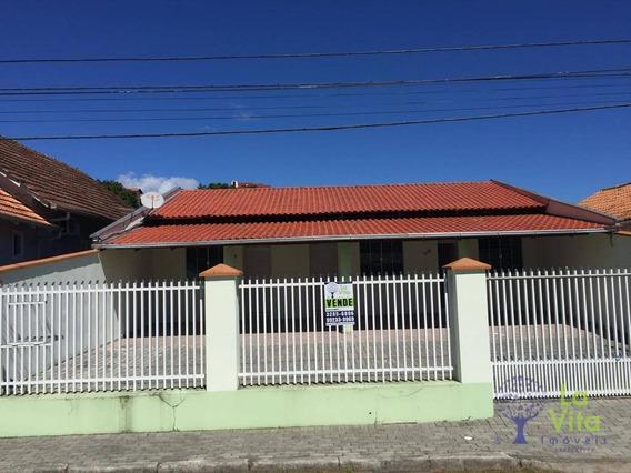 Excelente Casa À Venda, Oportunidade Para Investidores, Divididas Em 3 Quitinetes, Bairro Garcia, Próximo A Cooper. - Ca0340