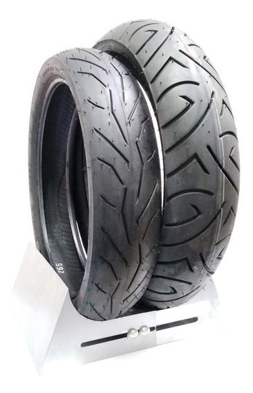 Par Pneu Cbx 250 Twister Cb300 Comet 250 Novos Pirelli 0602