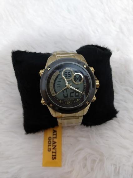 Relógio Atlantis Gold Digital