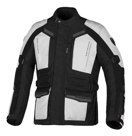 Campera Moto Protecciones Impermeable Motorman Expeditor