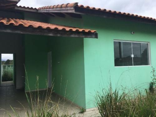 Casa Financiada, Lado Praia Em Peruíbe. Entrada + Parcelas!