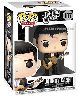 Funko Pop Johnny Cash 117 Rocks Original Funko Scarlet Kids