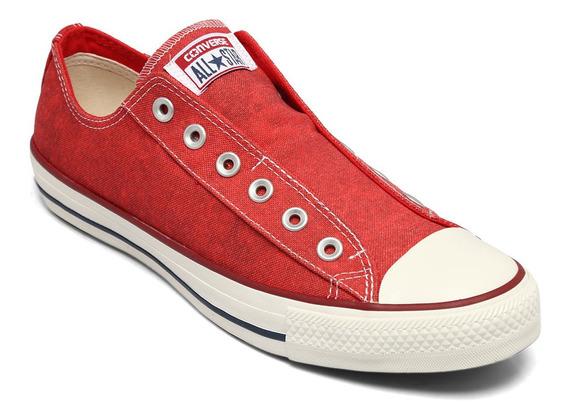Tênis All Star Converse Chuck Taylor Vermelho/branco/amêndoa Ct08280001