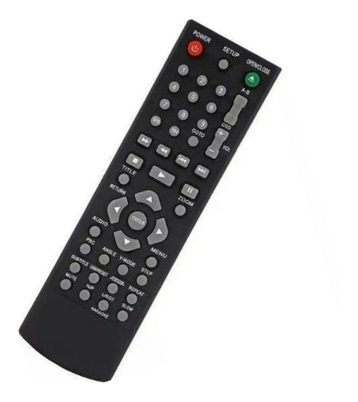 Controle Remoto Dvd Philco Karaokê Ph154 Ph156 Ph192 Ph150