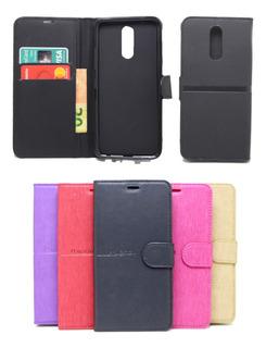 Capa Estilo Carteira LG K12 Plus K12+ Flip Case + Pel. Vidro