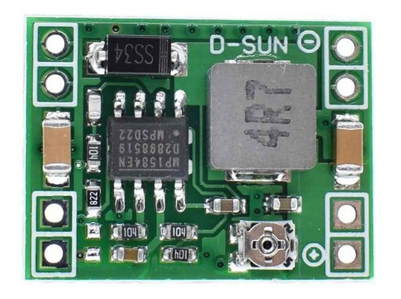 10x Conversor Dc-dc Step Down Lm2596 3a Small Smd Mp1584
