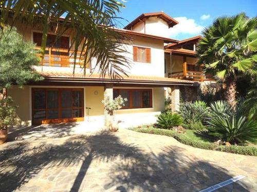 Imagem 1 de 28 de Sobrado Com 4 Dormitórios À Venda, 614 M² Por R$ 2.600.000,00 - Portal Dos Nobres - Atibaia/sp - So0232