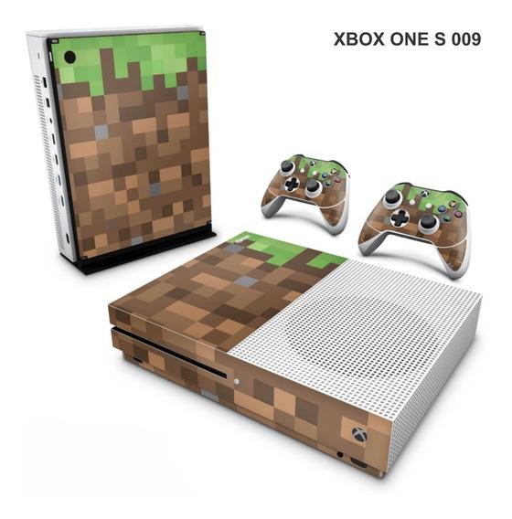 Skin Adesiva Para Xbox One S (slim) - Minicraft