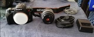 Cámara Profesional Marca Sony Modelo Dslr- A230