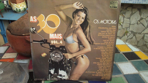 Antigo Disco De Vinil/os Motokas/volume 4