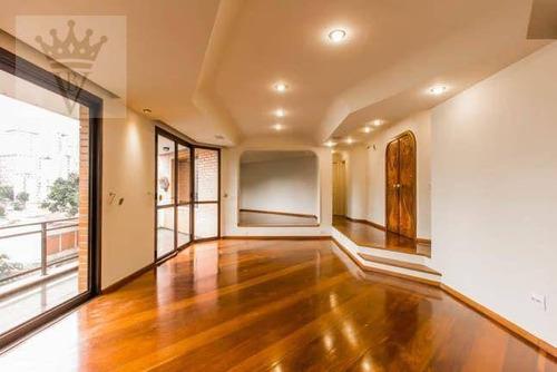 Apartamento Com 4 Dormitórios, 274 M² - Venda Por R$ 2.380.000,00 Ou Aluguel Por R$ 7.500,00/mês - Pacaembu - São Paulo/sp - Ap5884