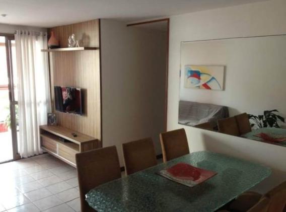 Apartamento, 03 Quarto Com Suíte, 02 Vagas Na Quadra Do Mar, Jardim Camburi - Es. - 2001226