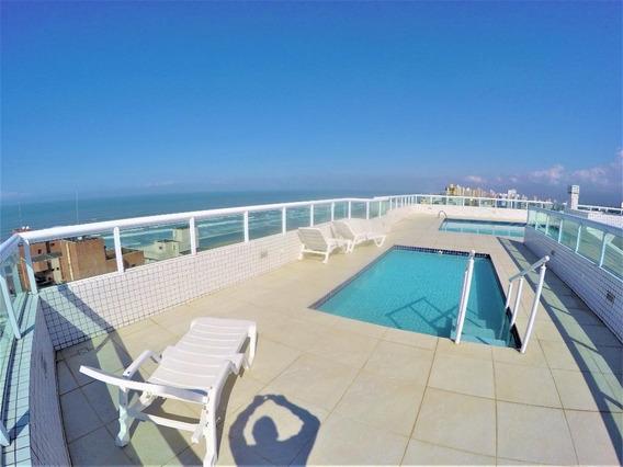 Apartamento Novo Próximo À Praia Com 2 Dormitórios Para Alugar, 139 M² Por R$ 2.200/mês - Vila Guilhermina - Praia Grande/sp - Ap3310