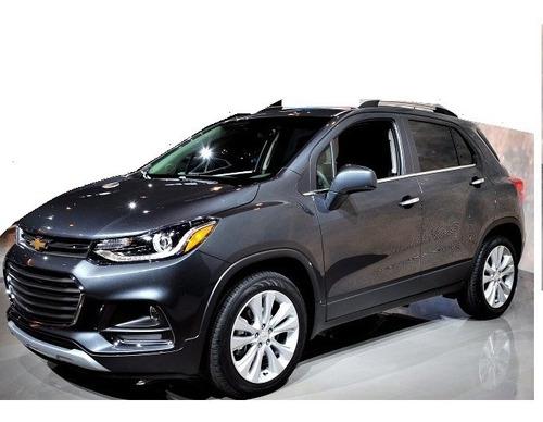 Chevrolet Tracker Lamevidrios Cromados  6 Piezas-