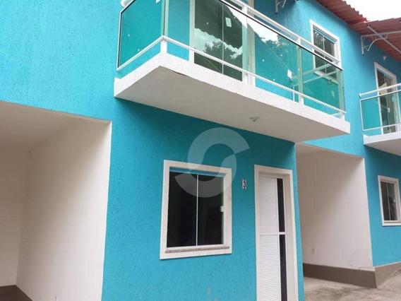Casa Residencial À Venda, Camarão, São Gonçalo. - Ca1231