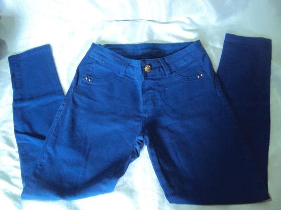 Calça Jeans Feminina Azul Over 12 Tamanho 36
