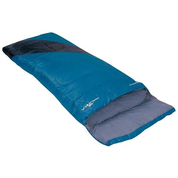 Saco De Dormir Liberty 4ºc A 10ºc Ntk Preto E Azul