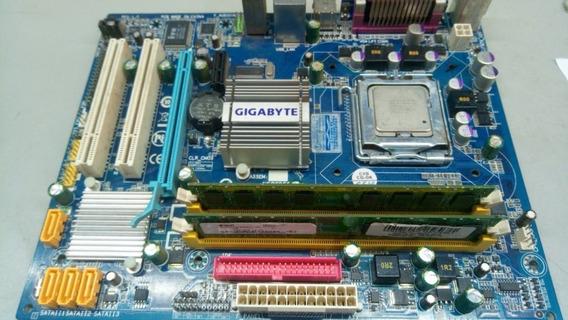 Desktop Intel Core 2 Duo E4500 2,2ghz 4gb Ram 80gb Hd Win 10
