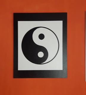 Cuadro Chino Yin Yang Tamaño Grande 46 X 56