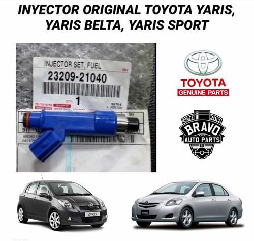 Inyector Toyota Yaris, Yaris Belta, Yaris Sport