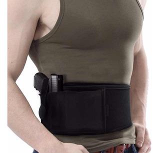 Coldre Abdominal Universal Arma Tático Militar Policial