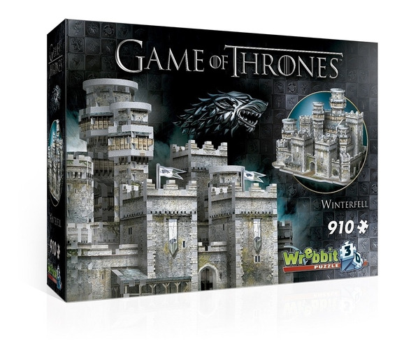 A Game Of Thrones Puzzle 3d 910 Pçs Winterfell - Galápagos