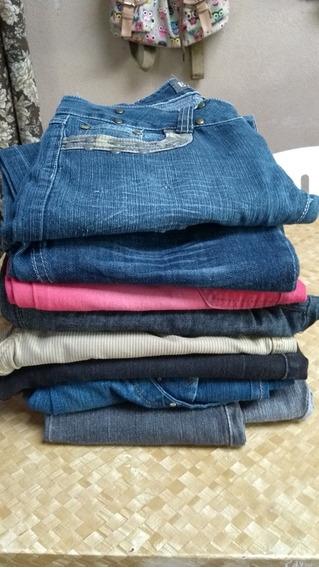 Lote De Calça Jeans Feminina