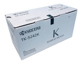 Cartucho De Toner Kyocera Tk-5242 K Negro Para M5526cdw
