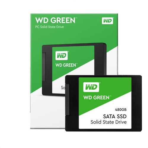 Hd Ssd Sata Iii Wd Green 480gb 2.5''/7mm - 500 Pc Notebook