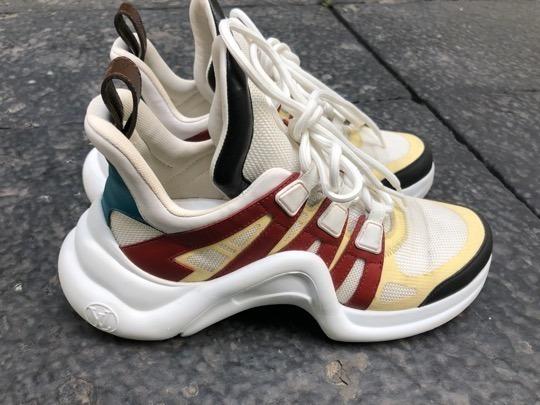 Tenis Louis Vuitton Ugly Sneakers
