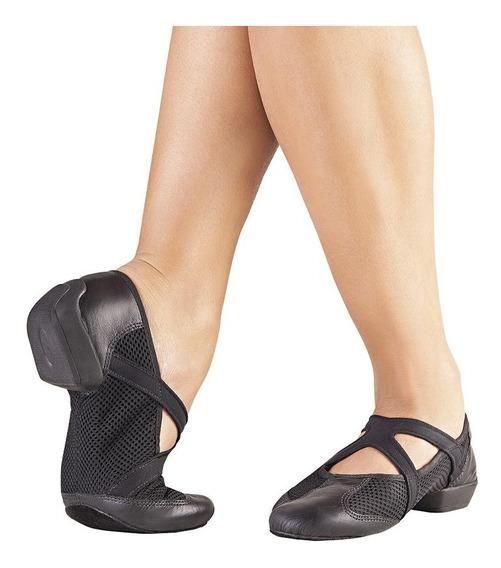Sapato Split Sole Jazz Feminino Amortecedor Calcanhar Jz-100