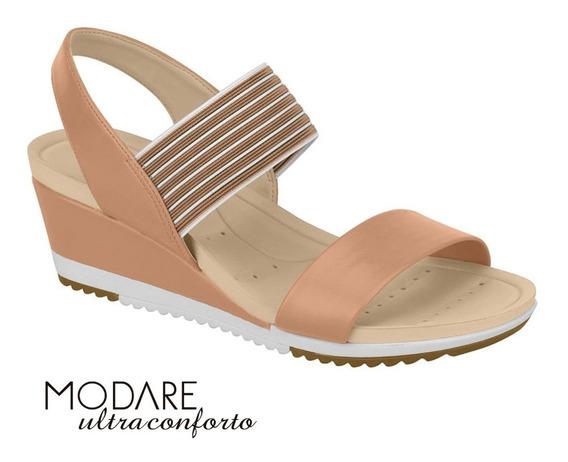 Sandália Feminina Anabela Modare Ultraconforto - 7123107