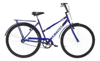 Bicicleta Aro 26 Ultra Bikes Poti V-brake Azul Com Paralamas