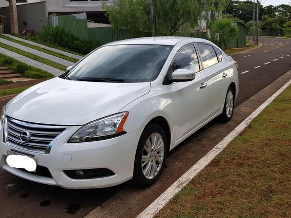 Sentra Sl 2.0 Nissan Branco Excelente Estado!!