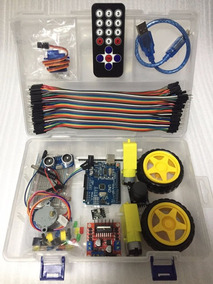 Eletrônicos Arduino Kit Educacional Robotica Controle Uno R3