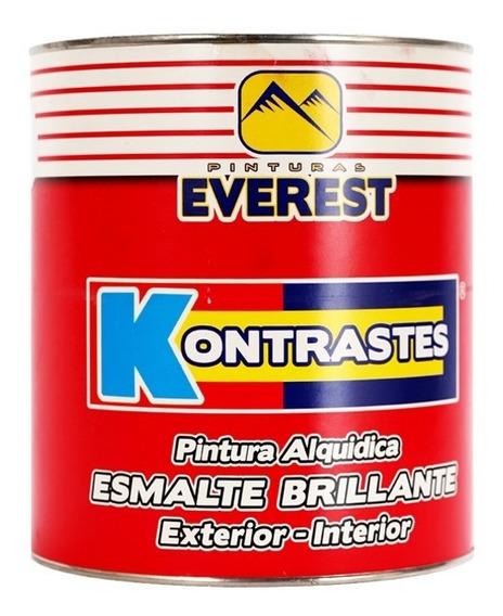 Pintura Esmalte Rojo Rubi Gal Kon Everest Claseb 1062871 Prc