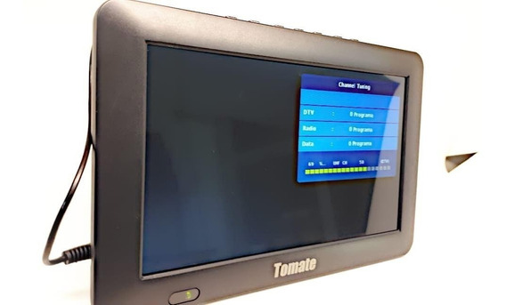 Tv Portátil Lcd 9 Polegadas Tomate Tela Monitor C/ Antena9