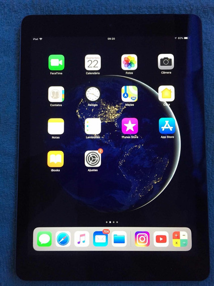 iPad Air A1475 32gb Cinza Espacial, Tela 9,7