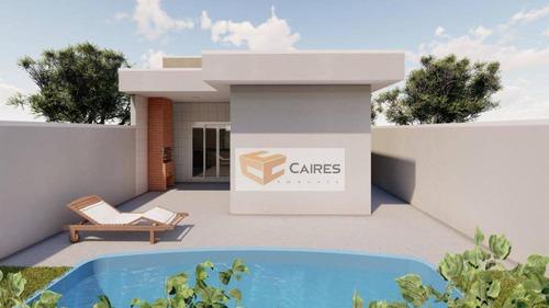 Imagem 1 de 17 de Casa Com 3 Dormitórios À Venda, 94 M² Por R$ 450.000,00 - Jardim Esplanada - Campinas/sp - Ca3194