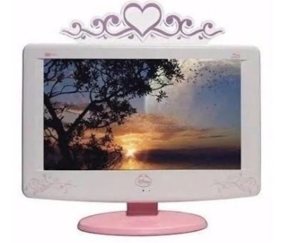 Tv Cce 18 Disney Princesa Lcd