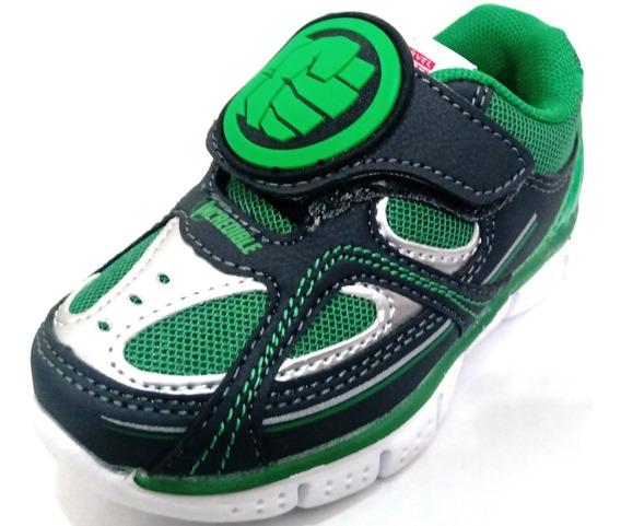 Zapatillas Deportivas Con Abrojo Baby Hulk