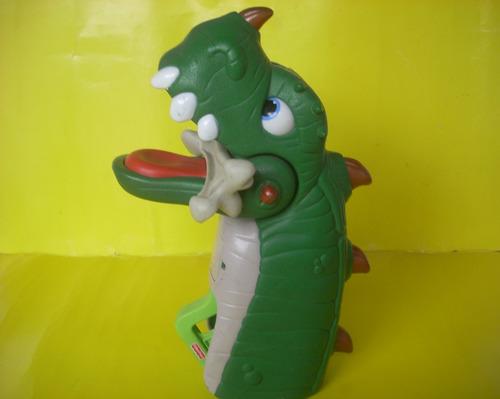Fisher-price Imaginext De Spike Mandíbulas Ultra Dinosaurio