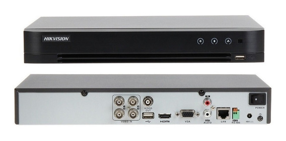 Dvr Hikvision Ds-7204hqhi-k1 4 Canales Turbo Hd 1080p