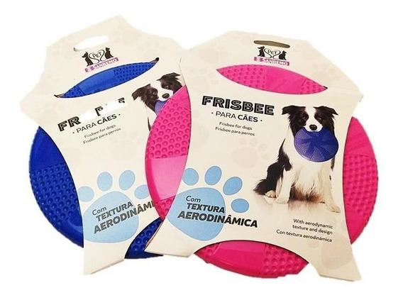 Brinquedo Frisbee Azul De Alta Performance San Remo Para Cachorro