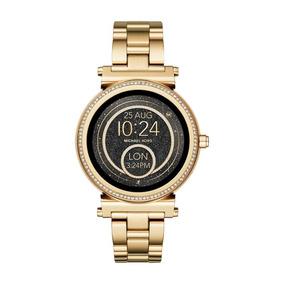 Relógio Smartwatch Michael Kors Access Sofie Mkt5021 Dourado