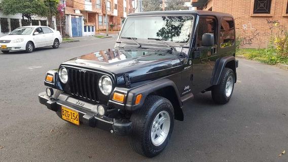 Jeep Wrangler 2006 Todo Original